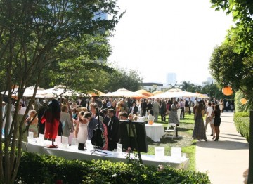 BAFTA members and guests attend the 2010 TV Tea Party at the Hyatt Regency Century Plaza in Los Angeles (Image: Alex Berliner/Berliner Studios).
