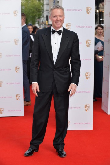 Comedy hero Rory Bremner on the red carpet outside London's Theatre Royal