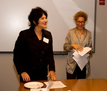 Linda Kahn and Susan Margolin