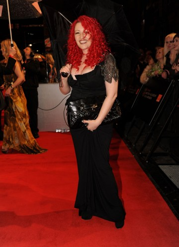 Kick-Ass writer Jane Goldman, who's recently adapted The Woman In Black, starring Daniel Radcliffe and produced by Hammer. (Pic: BAFTA/Richard Kendal)