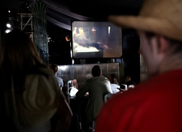 Screening of live action short films in the Music and Film Arena (Picture: Jonathan Birch)