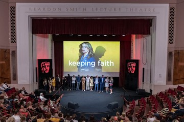 Event: Keeping Faith Series 2 PremiereDate: Monday 8th July 2019Venue: National Museum Wales, CardiffHost: Carol Vorderman