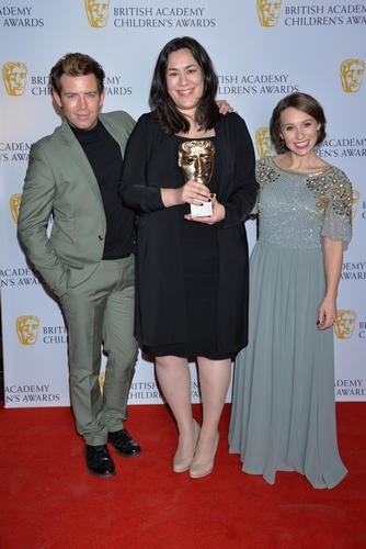 My Life, My Religion wins the Short Form category at the British Academy Children's Awards in 2015, presented by Jen Pringle and Derek Moran.