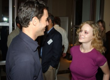 Eric McCormack and Thora Birch