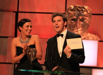 This Is England's Vicky McClure and White Heat's Sam Claflin present the International BAFTA.