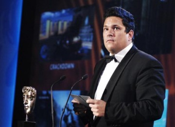 Comedian Dom Joly presents the Action and Adventure category