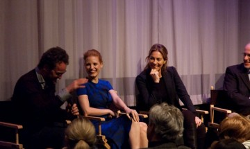Jason Clarke, Jessica Chastain and Director Kathryn Bigelow
