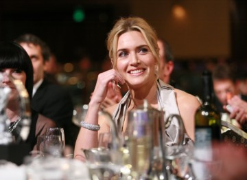 Kate Winslet, recipient of the Britannia Award for British Artist of the Year.