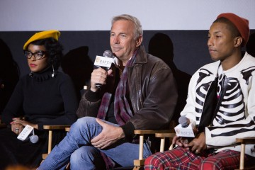 Janelle Monae, Kevin Costner, Pharrell Williams