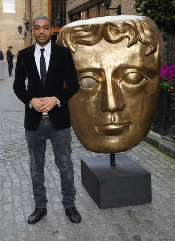 The actor and rapper (best known for his role in Top Boy) arrives at the Television Craft Awards to present the Break-Through Talent Award.