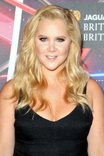 Amy Schumer makes an appearance on the red carpet before being honored with the Charlie Chaplin Britannia Award for Excellence in Comedy sponsored by Kodak.
