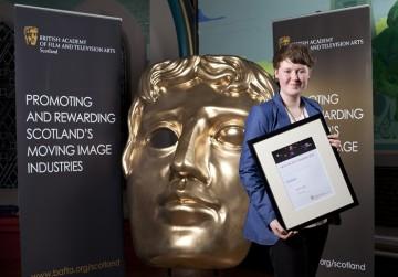 Editor winner Johanna Erholtz for 'The Taxidermist'