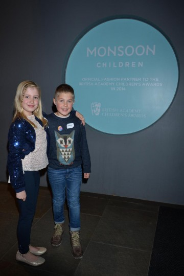Monsoon was the official fashion partner to the BAFTA Kids Red Carpet Experience