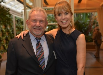 Event chairs Gary Dartnall and Julia Verdin