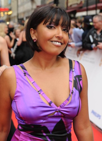 Sunetra Sarker arrives to find out whether hospital drama, Casualty, will triumph in the Continuing Drama category (BAFTA/Richard Kendal).