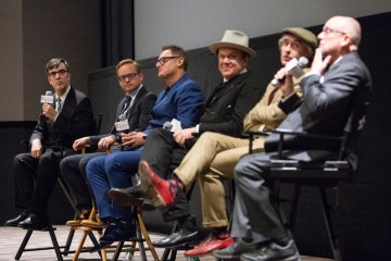 Jason Simos, Jon S. Baird, Jeff Pope, John C. Reilly, Steve Coogan and Mark Coulier