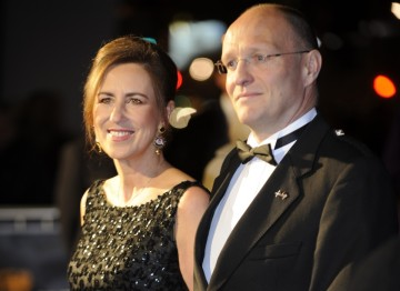 Kirsty Wark and Alan Clements