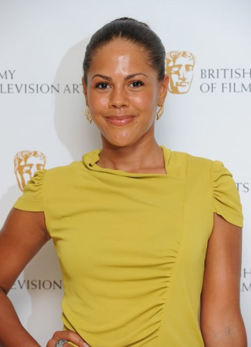 Lenora Crichlow, Emmy Award winner for her role in Sugar Rush, arrives at the Television Craft Awards.