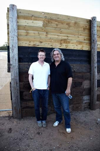 July 17:  Paul Greengrass and Simon Mayo (Picture: Jonathan Birch)