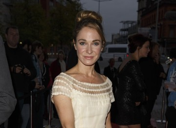 Welsh actress Nia Roberts (Patagonia, Third Start) arrives on the red carpet
