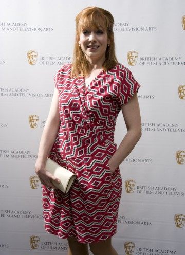 Parkinson, who's BAFTA-nominated this year for her performance as Jen in The IT Crowd, will present Director: Multi-Camera tonight. (Pic: BAFTA/Chris Sharp)