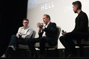 Nick Quested, Sebastian Junger, Charles Thorp