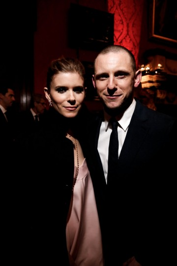 Kate Mara and Jamie Bell enjoy the party