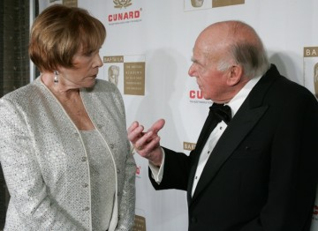 Ronald Neame, CBE and Shirley MacLaine