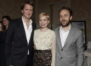 Tom Hooper (The King's Speech) with Michelle Williams and Derek Cianfrance (Blue Valentine)