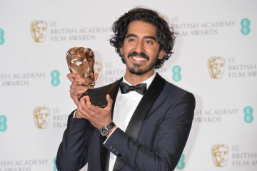 Dev Patel, winner of the Supporting Actor Award for his role in Lion.