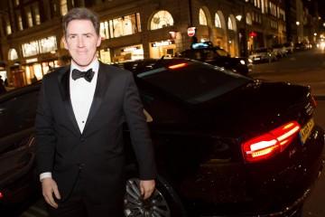 Rob Brydon arrives at BAFTA 195