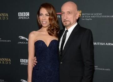 Ben Kingsley and wife Daniela Lavender