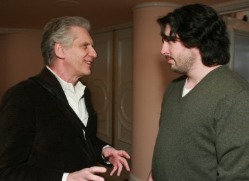 David Cronenberg and Jason Reitman