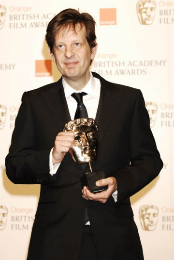 Producer Christian Colson accepted the award for Best Film on behalf of the cast and crew of Slumdog Millionaire (BAFTA/ Richard Kendal).