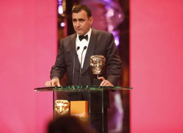 Michael O'Connor collected the Costume Design Award for his work on period drama, The Duchess (BAFTA / Marc Hoberman).