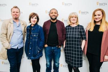The Ladder: TV - Gregor Sharp, Shereen Nanjiani, Ben Tagoe Katie Lander & Kirsty Drain