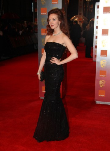 The young Brit actress appeared opposite Rhys Ifans in Mr Nice last year, and will soon be seen in TV drama Women In Love. Grant's dress is by Dolce & Gabbana. (Pic: BAFTA/Stephen Butler)