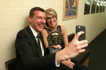 BAFTA Cymru Awards, Backstage, Cardiff, Wales, UK - 02 Oct 2016