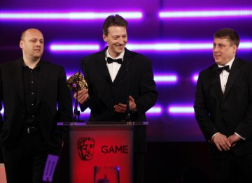 Heavy Rain takes Technical innovation - its developer Quantic Dream supplies motion capture services to the film and video game industries. (Pic: BAFTA/Brian Ritchie)