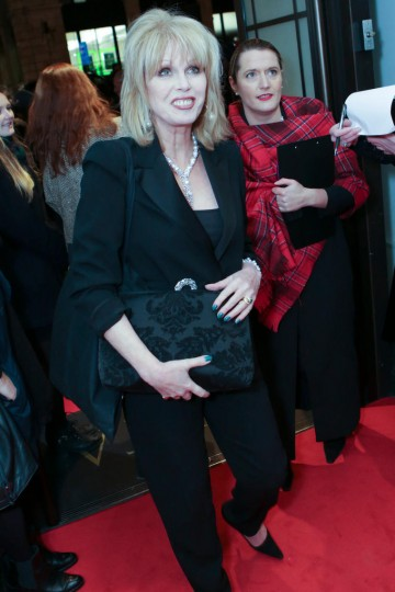 Joanna Lumley arrives at BAFTA 195 Piccadilly