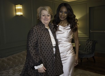 BAFTA New York CEO Christina Thomas and Amma Asente
