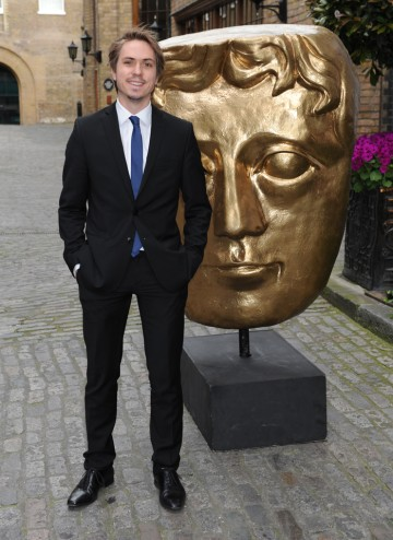 Joe Thomas is best known for his role as Simon in The Inbetweeners. He arrives at the Television Craft Awards to present the Photography categories alongside Kimberly Nixon.