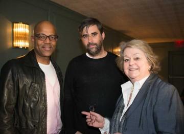 Patrick Harrison, Kieran Evans and Christina Thomas