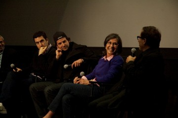 Producer Jonathan Gordon, Bradley Cooper, Producer Donna Giliott and Director David O. Russell