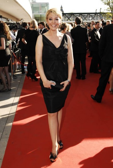 Peep Show star Olivia Colman on the red carpet at the Britsh Academy Television Awards in 2009 (BAFTA/ Richard Kendal).