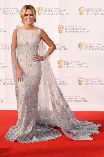 Britain's Got Talent judge Amanda Holden on the red carpet