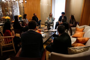 Breakthrough Brits lunch with Jade Raymond at the Rosewood, London