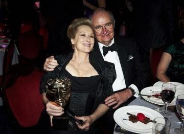 Jim Broadbent and Meryl Streep at the 2012 Film Awards