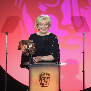 Jo Malone presents the award for Breakthrough Talent sponsored by Sara Putt Associates at the British Academy Television Craft Awards in 2015