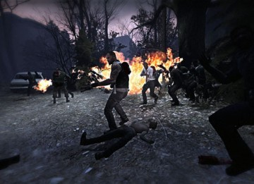 First-person horror shooter Left4Dead won the Multiplayer BAFTA (Valve).